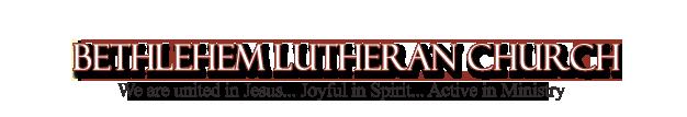Bethlehem Lutheran Church Fergus Falls, MN